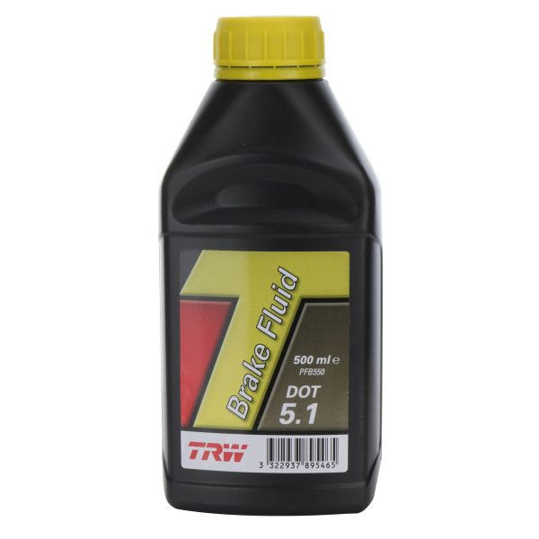 Dot 5.1 Synthetic Brake Fluid 500Ml