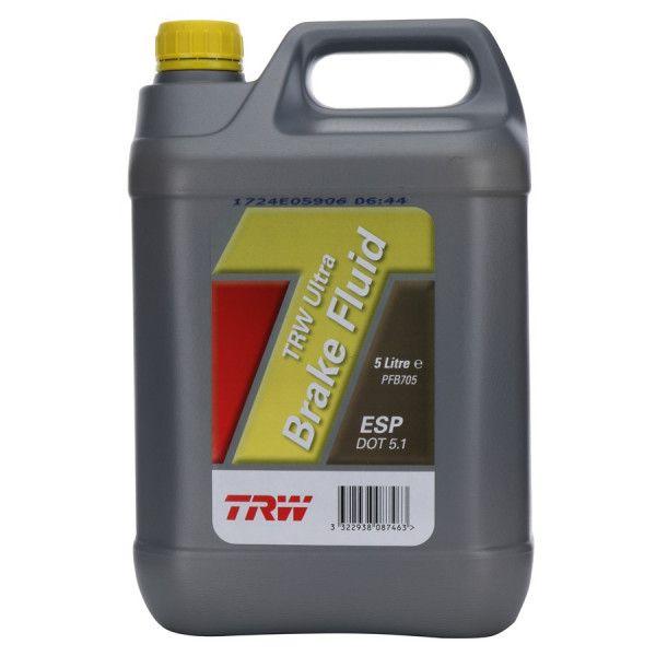 Dot 5.1 Esp Ultra Synthetic Brake Fluid 5 Litre