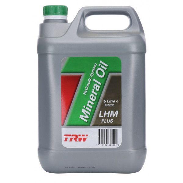 Lhm Plus Mineral Hydraulic Fluid 5 Litre