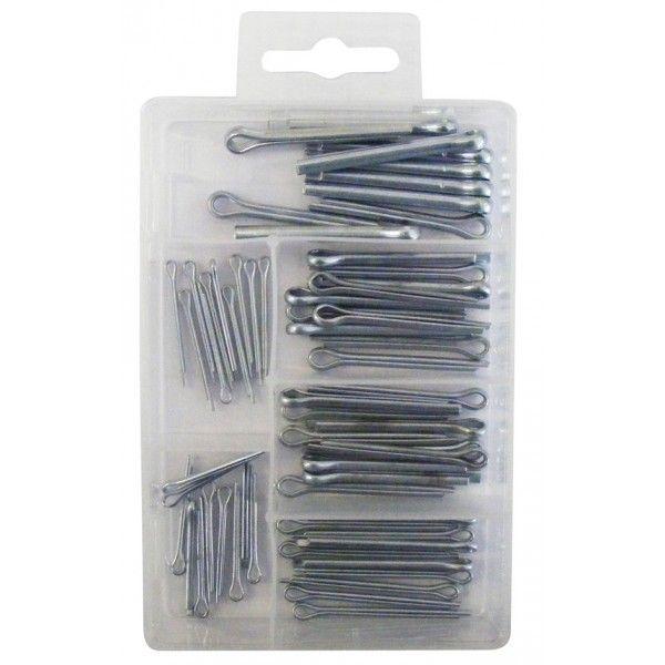 Split Pins Mini Assorted Box Of 60