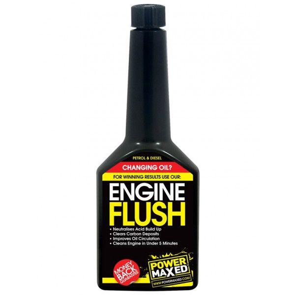 Power Maxed Engine Oil Flush Treatment 325Ml