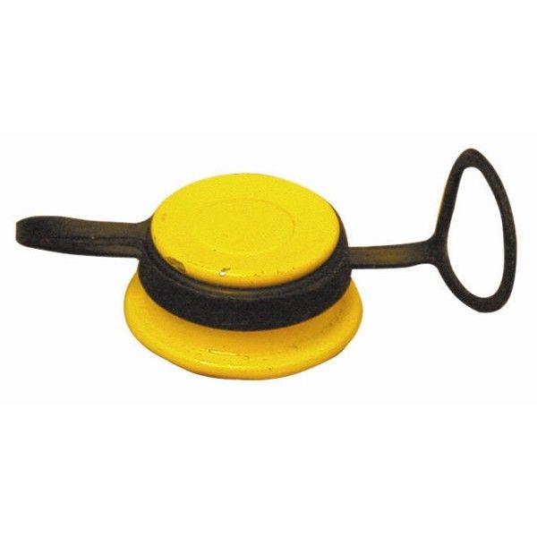 Oil Filler Cap Yellow Ford Cvh