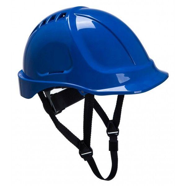 Endurance Vented Safety Helmet Blue