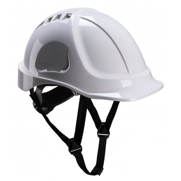 Endurance Vented Safety Helmet White