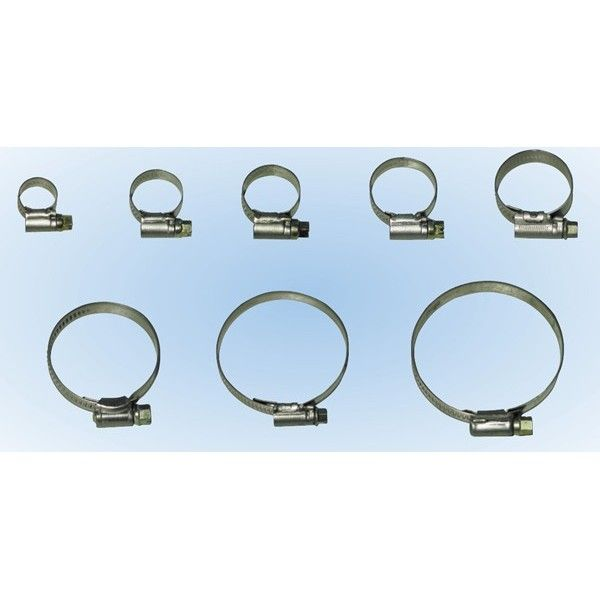 Hose Clips Ss 2 4055Mm Pack Of 10
