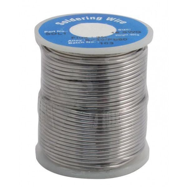 Solder Wire 16Swg 1.60 Mm 0.5Kg