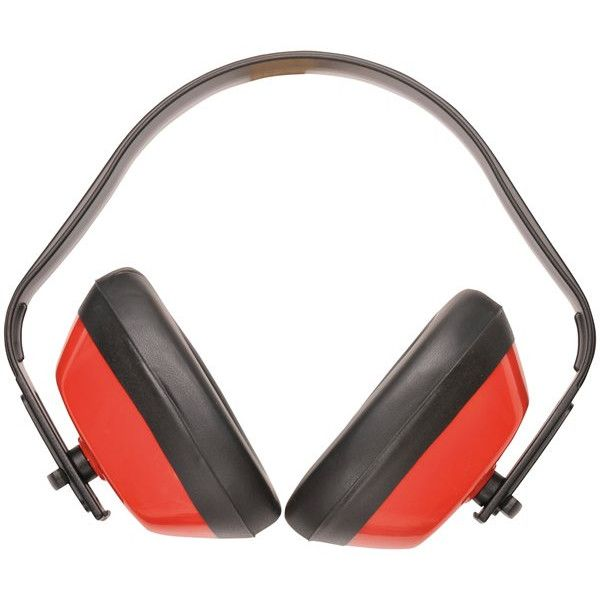 Classic Ear Defenders Red
