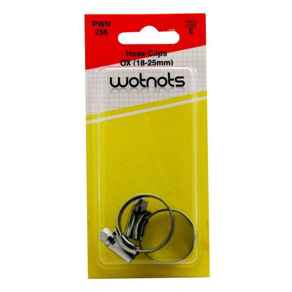 Hose Clips Ms Ox 1825Mm Pack Of 2