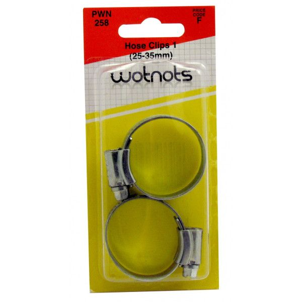 Hose Clips Ms 1 2535Mm Pack Of 2
