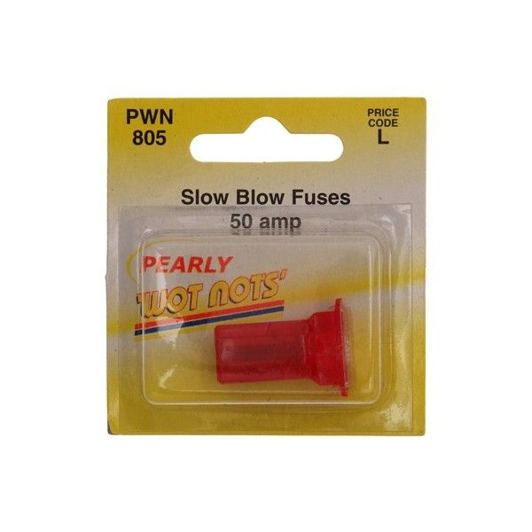 Fuse J Type Slow Blow Red 50A