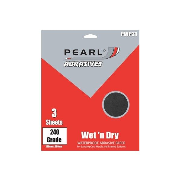 Wet Dry Paper P240 Pack Of 3