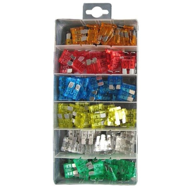 Fuses Standard Blade Assorted Pack Of 120