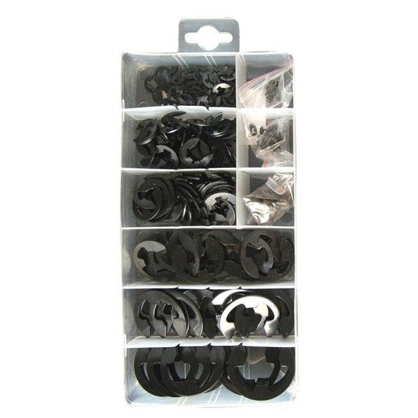 Assorted E Clips Box Of 300