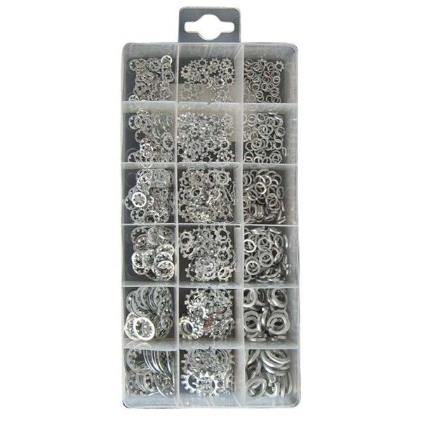 Shake Proof Washers Assorted Pack Of 720