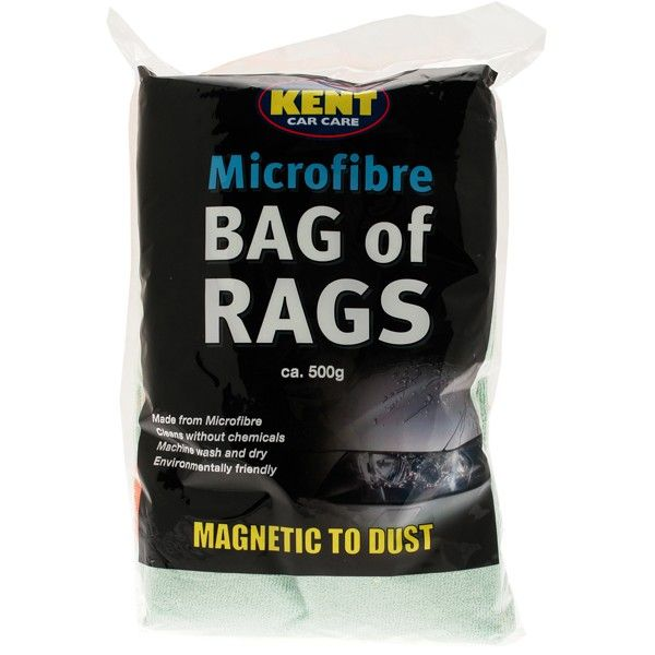 Microfibre Bag Of Rags 500G