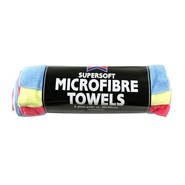 Microfibre Towels Pack Of 6