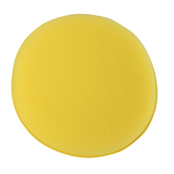Sponge Polish Applicator Pad Yellow