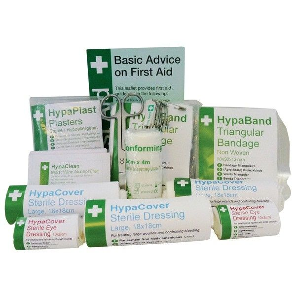 Pcv Travel First Aid Kit Refill