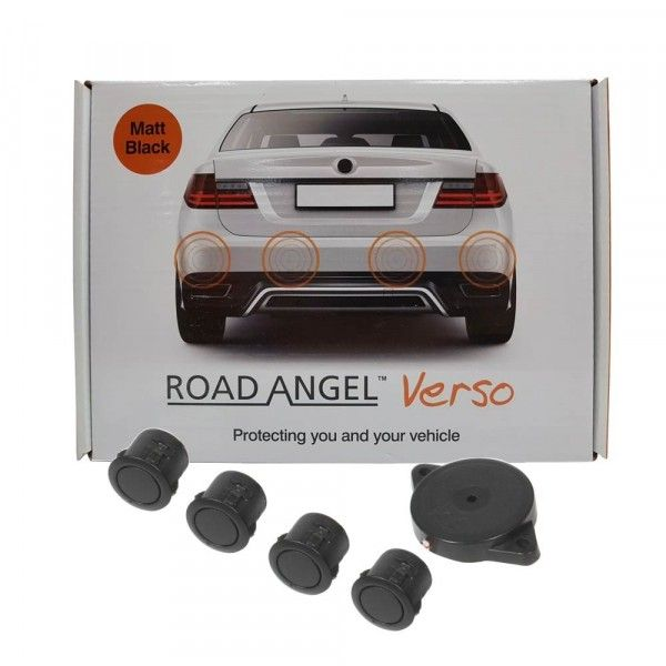 Road Angel Verso Intelligent Parking Sensors Matt Black