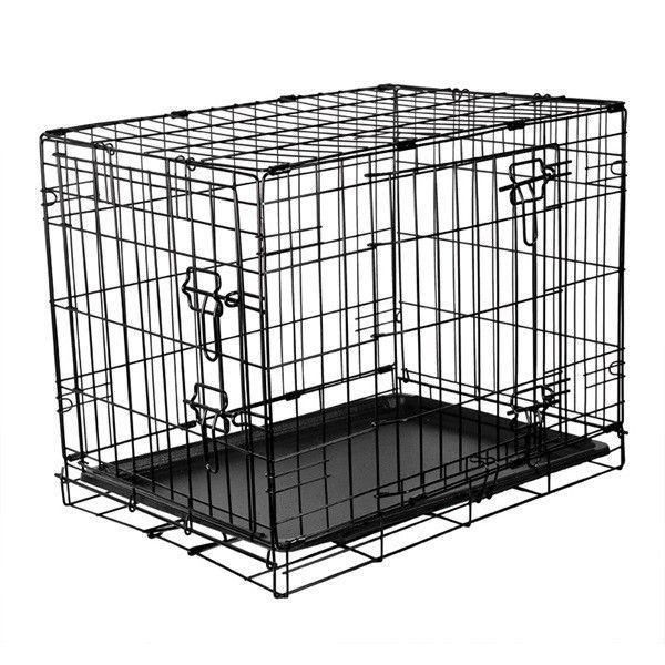 Fold Flat Metal Crate Small