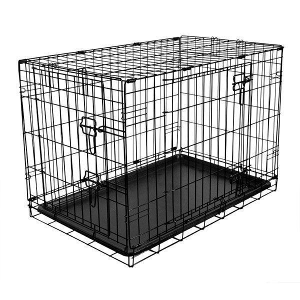 Fold Flat Metal Crate Medium