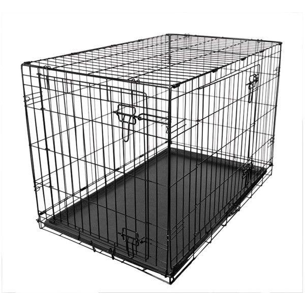 Fold Flat Metal Crate Large