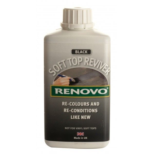 Soft Top Reviver Black 500Ml