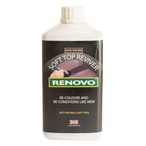Soft Top Reviver Brown 1 Litre
