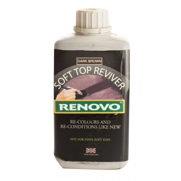 Soft Top Reviver Brown 500Ml