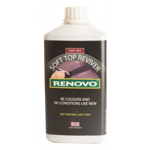 Soft Top Reviver Dark Red 1 Litre