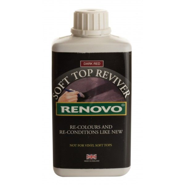 Soft Top Reviver Dark Red 500Ml