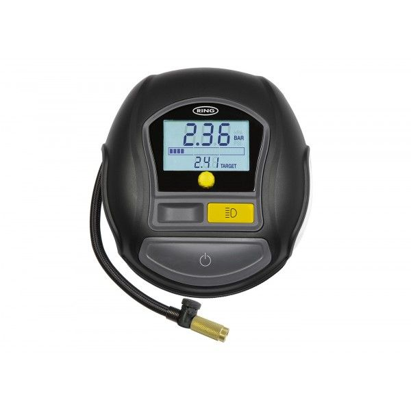 Rapid Digital Tyre Inflator With Autostop