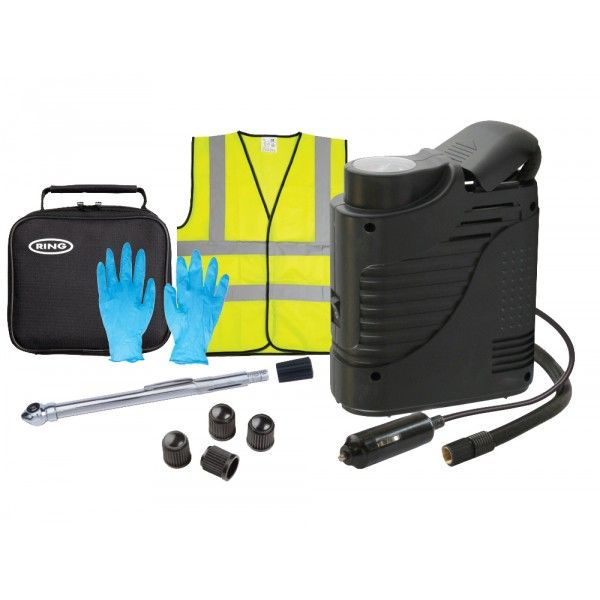 Tyre Maintenance Kit With Compressor