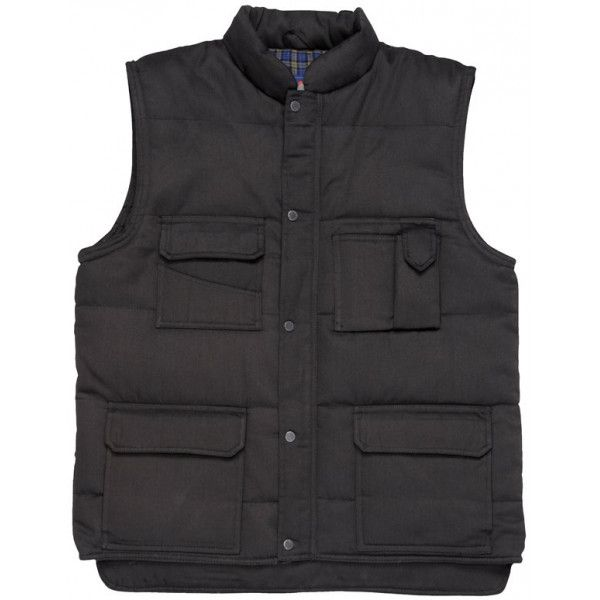 Shetland Bodywarmer Black Medium