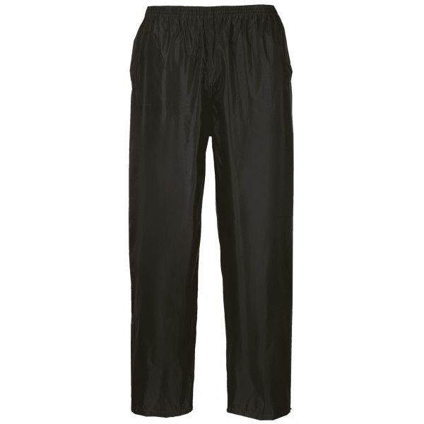 Classic Rain Trousers Black Xx Large Regular
