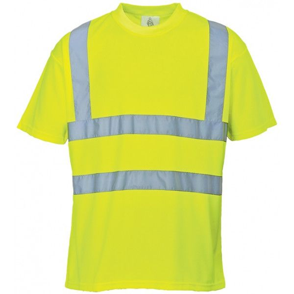 Hivis Tshirt Yellow Small
