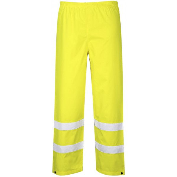 Hivis Traffic Trousers Yellow Large