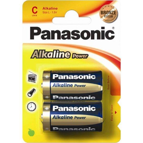 Alkaline Power C Batteries Pack Of 2