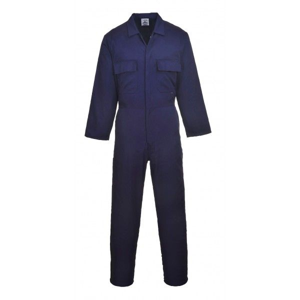 Euro Work Coverall Navy Xs