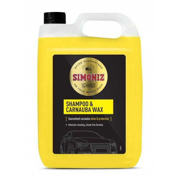 Simoniz Shampoo Carnauba Wax 5 Litre