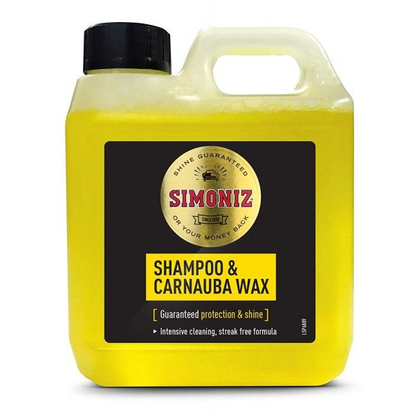 Shampoo And Wax 1 Litre