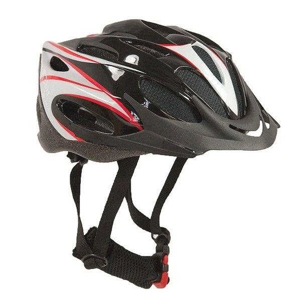 Junior Blitz Junior Black Cycle Helmet 5456Cm