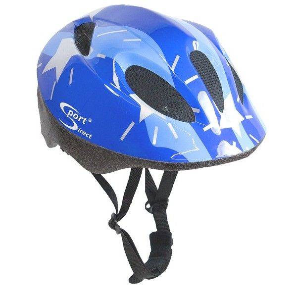 Silver Stars Junior Blue Cycle Helmet 4852Cm