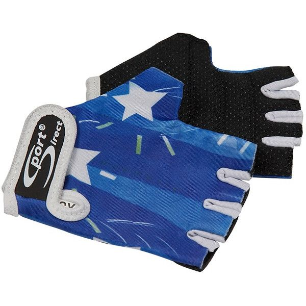 Junior Cycle Track Mitts Blue Extra Small