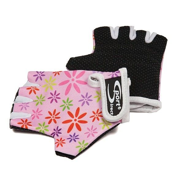 Junior Cycle Track Mitts Pink Extra Small