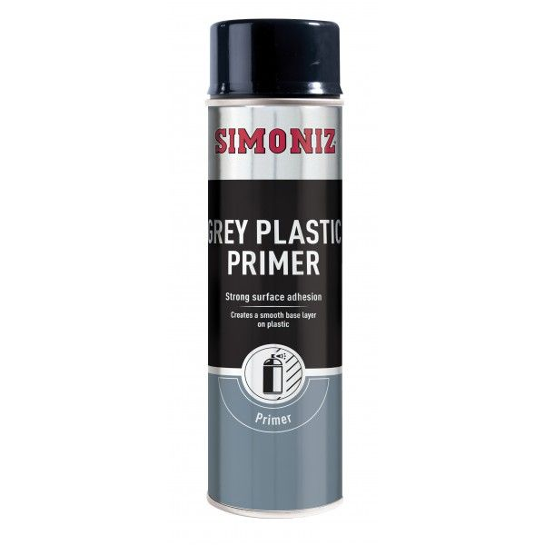 Grey Plastic Primer 500Ml