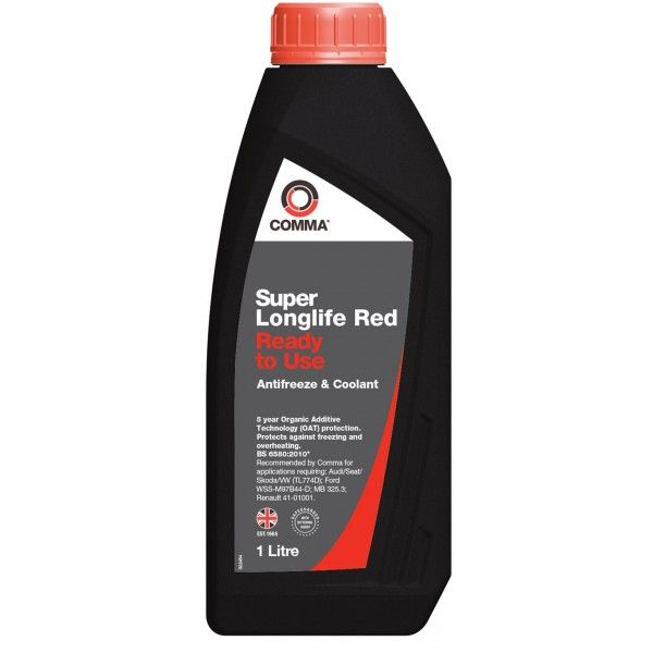 Super Longlife Antifreeze Coolant Ready To Use 1 Litre