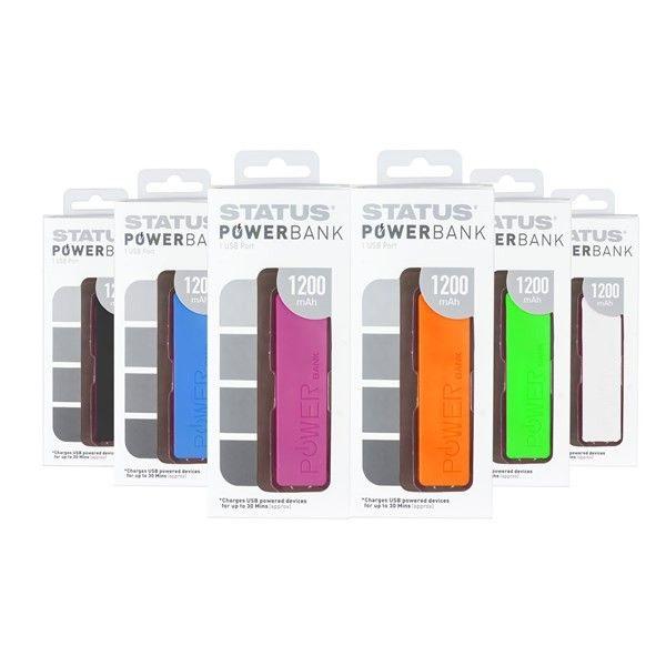 Powerbank 1200Mah Pack Of 12