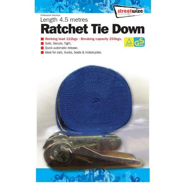 Ratchet Tie Down 4.5M