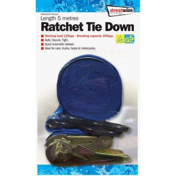 Ratchet Tie Down 5M